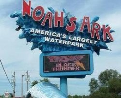 noah's ark sign